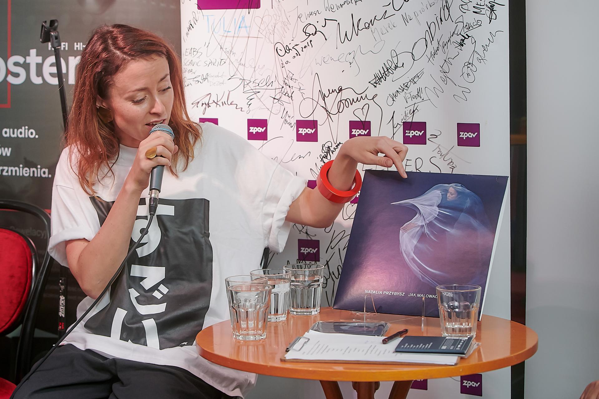 Prerelease of Natalia Przybysz's new album on ECO vinyl and ECO CD
